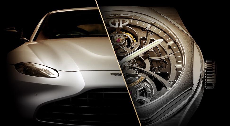 Aston Martin ha firmato un accordo con Girard-Perregaux