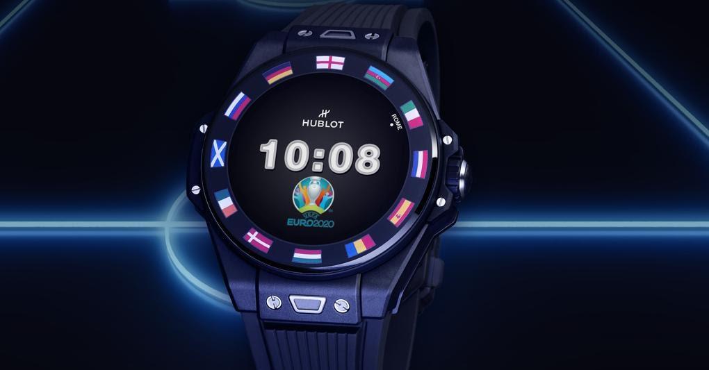 Il connesso Big Bang e Uefa Euro 2020 è l'orologio ufficiale del campionato europeo di calcio, sport per cui ha diverse funzioni dedicate. In mille pezzi, prezzo: 5.700 euro. In dotazione agli arbitri in ogni partita degli Europei, ha la cassa in ceramica nera.